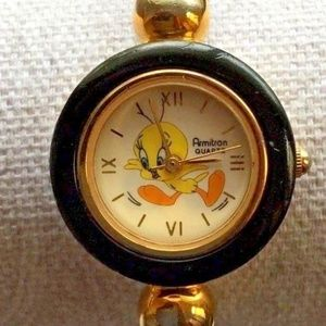 Armitron Tweety Bird Looney Tunes Watch Braided Me
